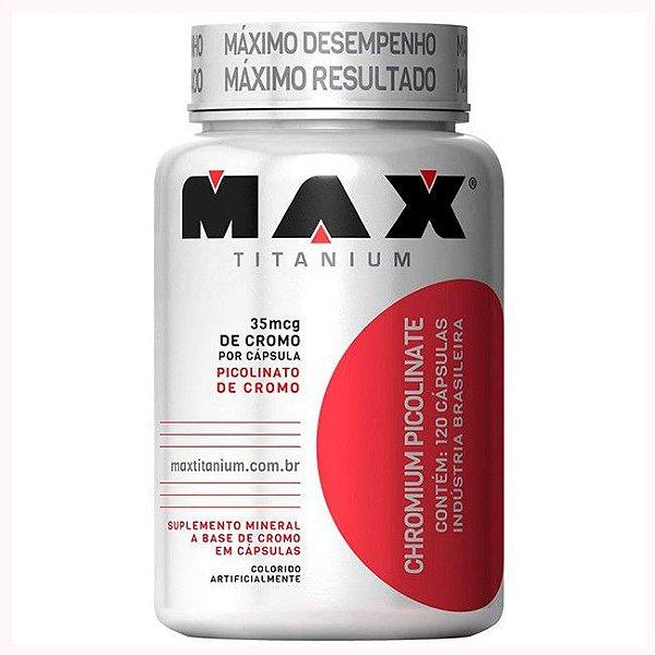 Chromium Picolinate - 120 Caps - Max Titanium