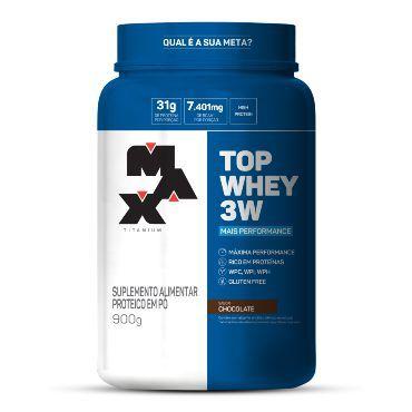 Top Whey 3W - 900g - Max Titanium