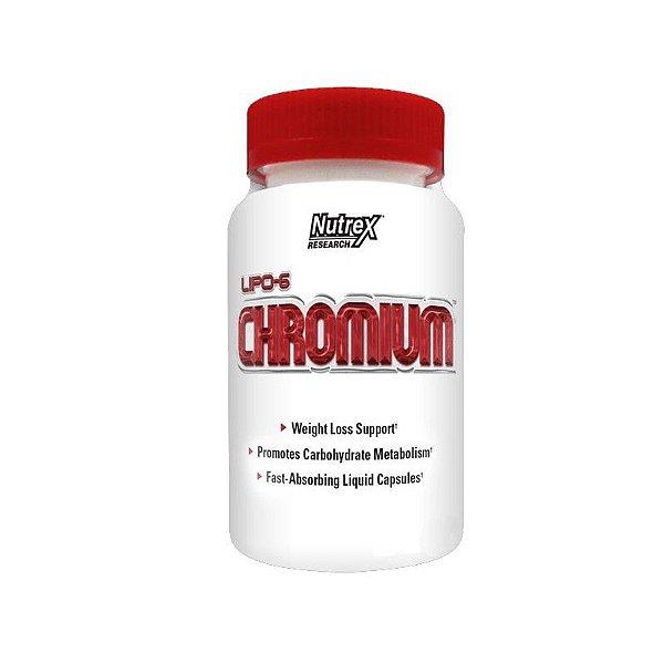 Lipo 6 Chromium - 90 Cápsulas - Nutrex