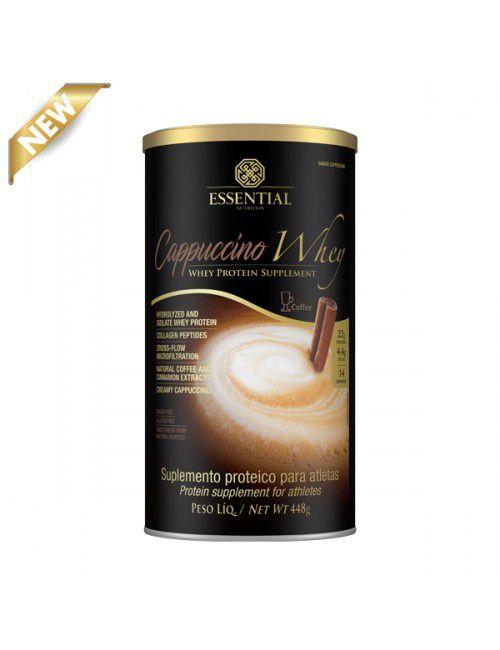 Capuccino Whey Hidrolisado - 448g - Essential