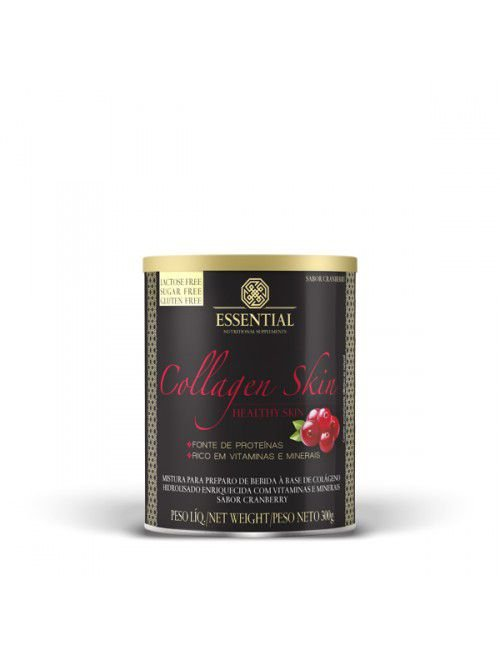 Collagen Skin (300g) Essential Nutrition Sabor Cranberry