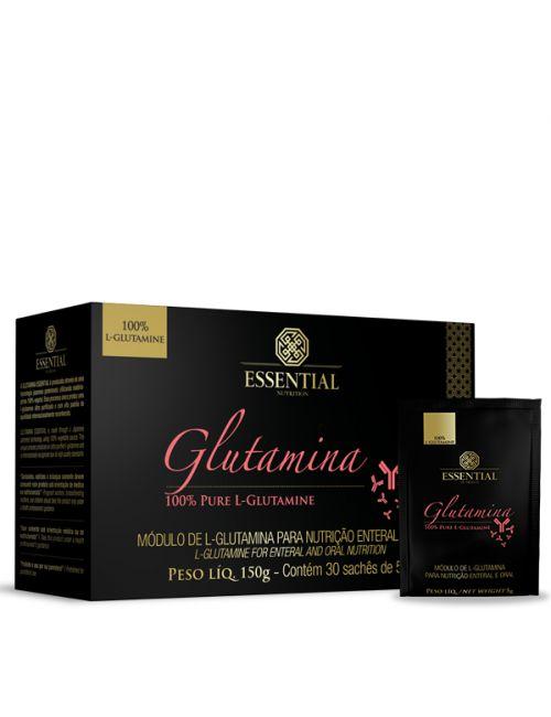 Glutamina - 30 sachês (5g) - Essential Nutrition