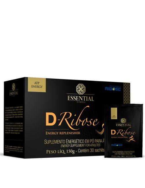 D-Ribose - 30 sachês (5g) - Essential Nutrition