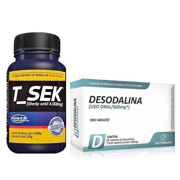 Combo Emagrecimento Desodalina + T-sek Emagrecedor