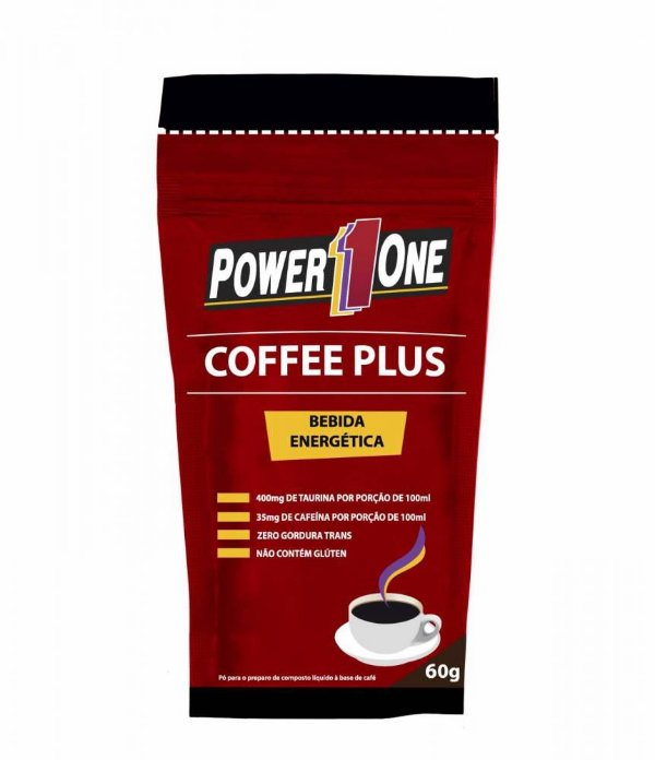Coffee Plus Bebida Energética (60g) - Power One