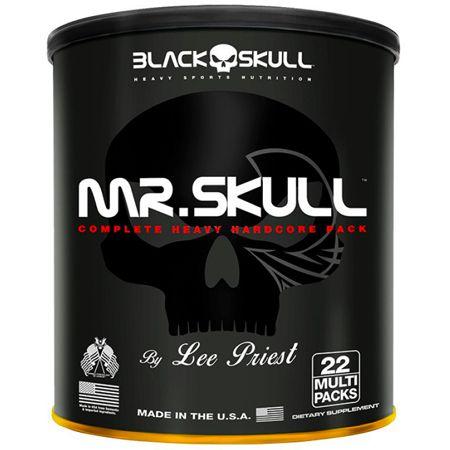 Mr Skull (22packs) - Black Skull