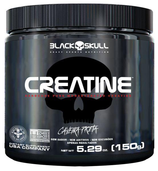 Creatine - 150g - Caveira Preta Black Skull