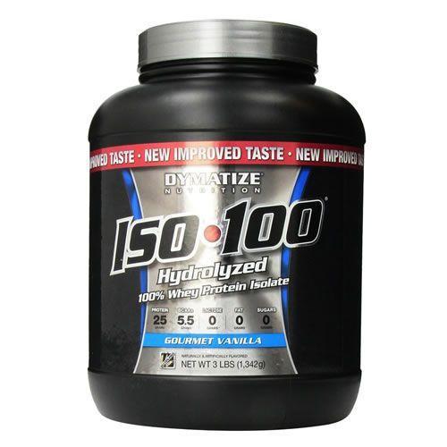 ISO 100 Whey (3 lbs) - Dymatize Sabor Baunilha