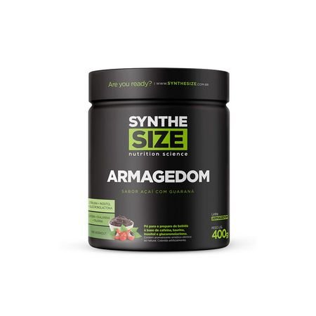 Armagedom 400gr (40 Doses) - SyntheSize Nutrition