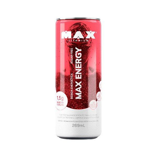 Max Energy 269ml - Energético Max Titanium