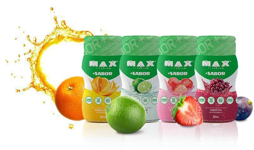 Mais Sabor 50ml - Max Titanium