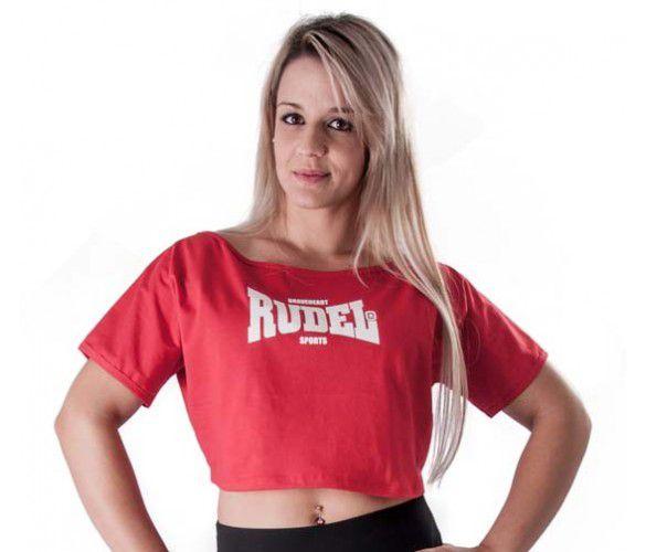Blusa Cropped Vermelho - Rudel