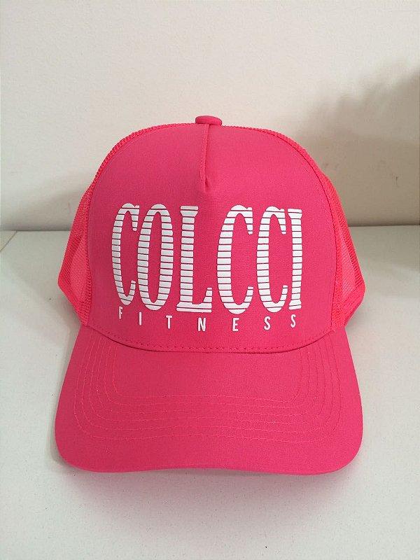 Boné Pink Colcci Fitness
