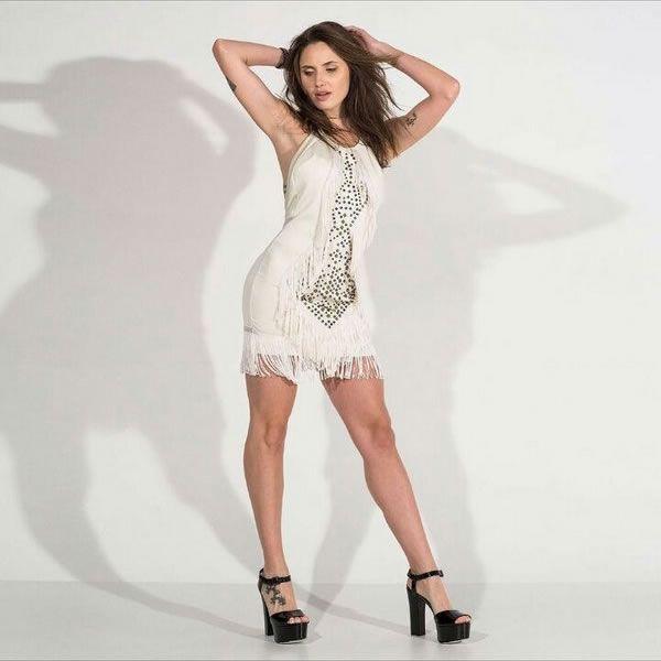 Vestido Bege Claro - Labellamafia