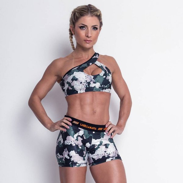 TOP CAMUFLADO - LABELLAMAFIA