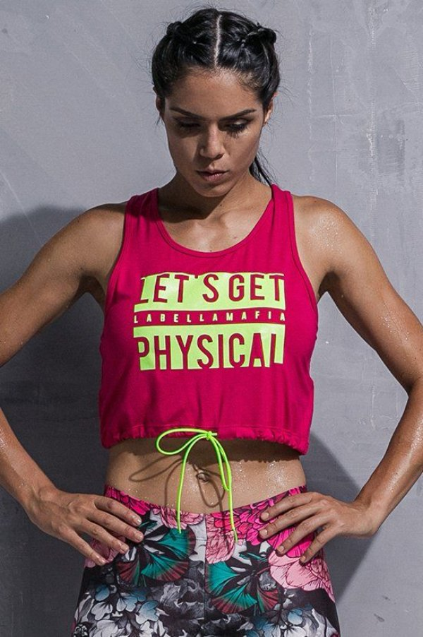 Blusa Regata Labellamafia Physical - Labellamafia