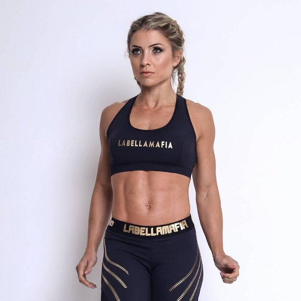 TOP LABELLAMAFIA GOLDEN BLACK - LABELLAMAFIA