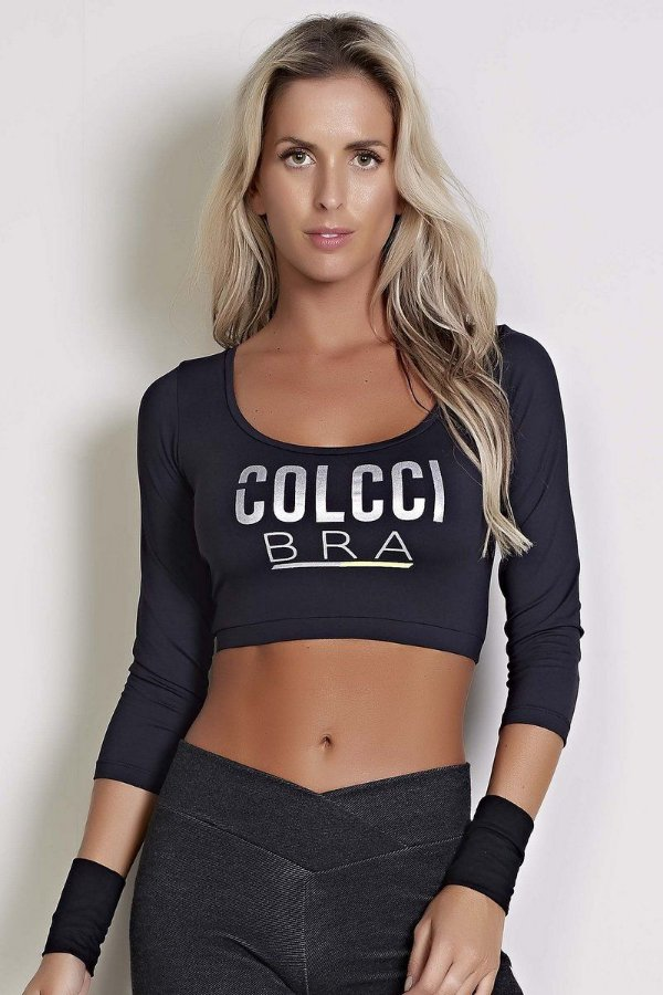 Blusa Cropped - Colcci Fitness
