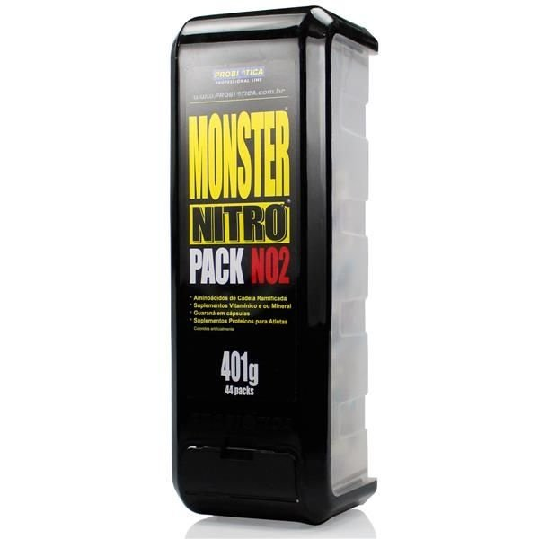Monster Nitro Pack NO2 (44 Packs) - Probiótica