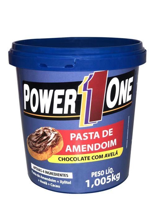 Pasta de Amendoim Chocolate com Avelã (1Kg) - Power One