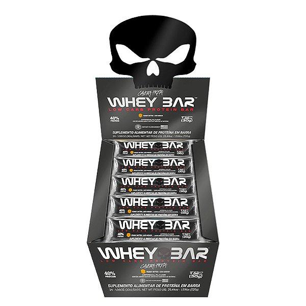 Whey Bar (Cx c/ 24 Unidades de 30g) - Black Skull