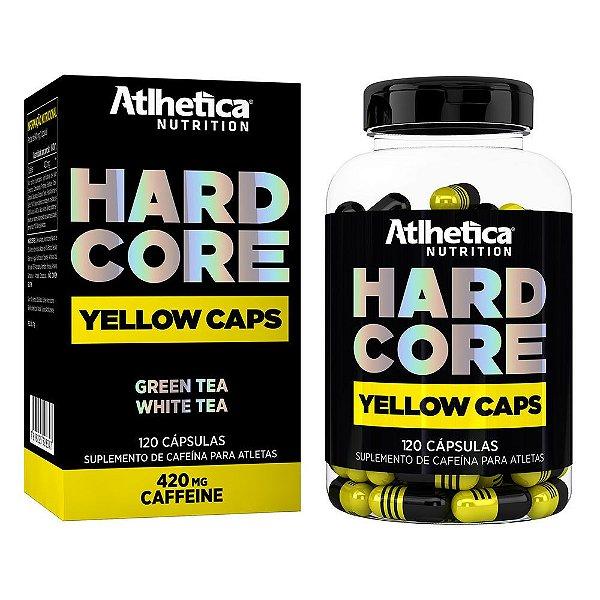 Hardcore Yellow Caps 120 Cápsulas - Atlhetica