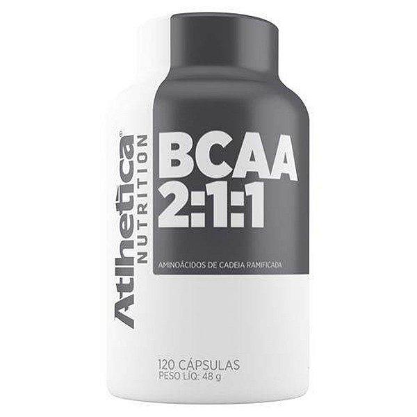 Bcaa 2:1:1 - 120 Cápsulas - Atlhetica Nutrition