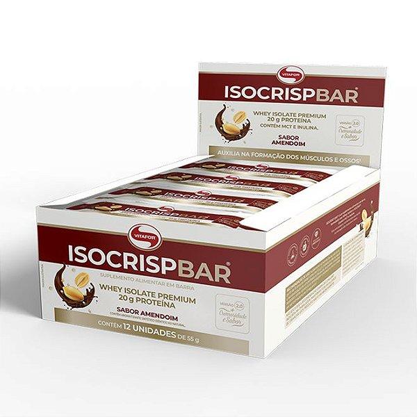 Isocrisp Bar 12un 55g - Vitafor