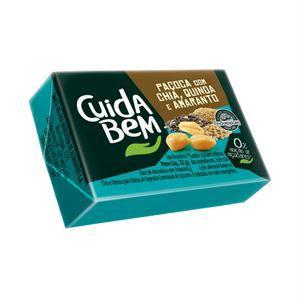Paçoca com Chia, Quinoa e Amaranto (22g) - Cuida Bem