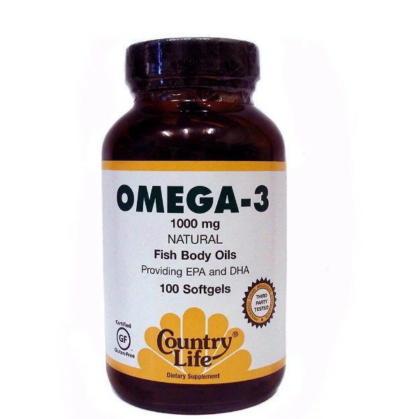 Omega 3 (100 softgels) - Country-Life