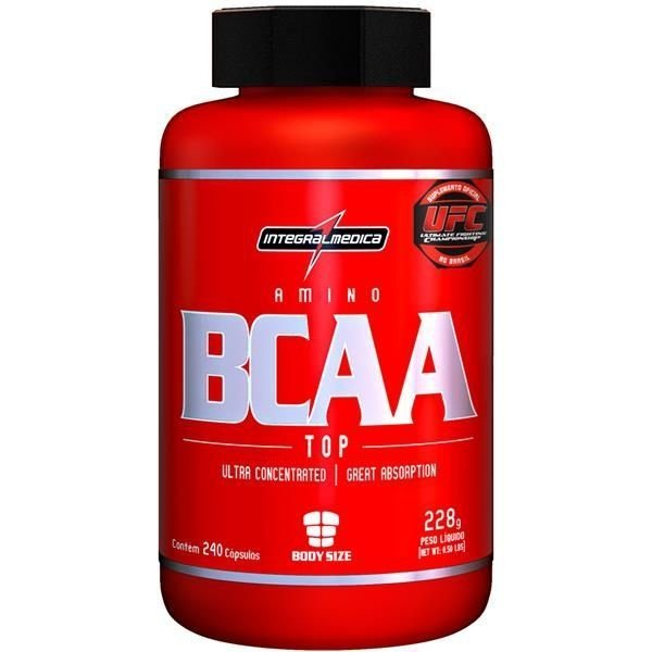 Amino BCAA Top (240 caps) - Integralmédica