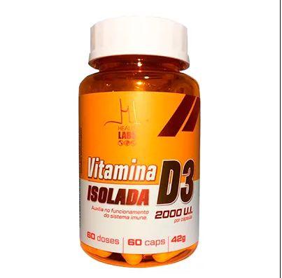 Vitamina D3 Isolada 2000 U.I - Imunidade (60 caps) - Health Labs