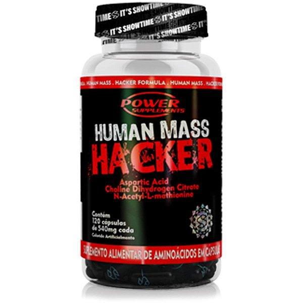 Human Mass Hacker - 120 Cápsulas - Power Supplements