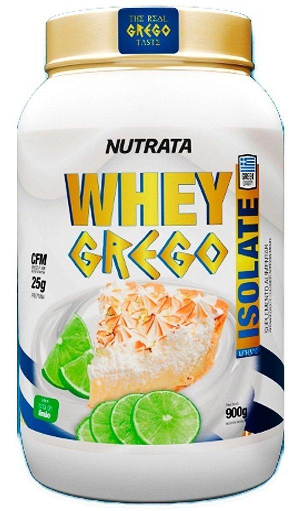 Whey Grego ISOLADO (900g) - Nutrata