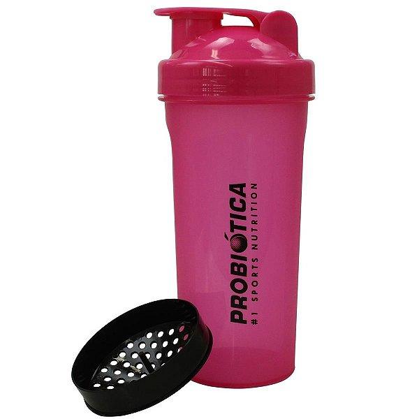 Coqueteleira Pink 700ml - Probiótica