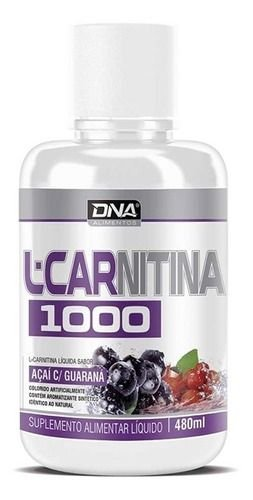 L-Carn 1000mg (480ml) - DNA Suplementos