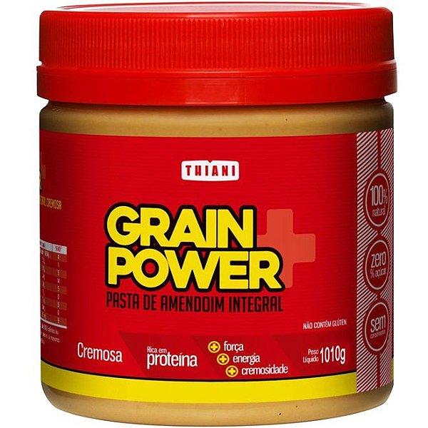 Pasta De Amendoim Grain Power Cremosa (1010g) - Thiani