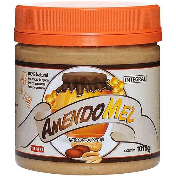 Pasta de Amendoim Grain Power Crocante com Mel (1010g) - Thiani
