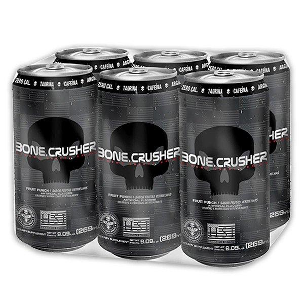 Fardo C/ 6 Bone Crusher Energy Drink 269ml - Black Skull