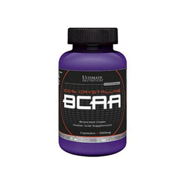 BCAA 500MG (60CAPS) - ULTIMATE NUTRITION - VENC.OUT/20