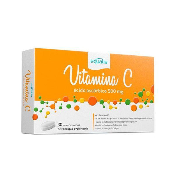 Vitamina C (Liberação Prolongada) - 30 Comprimidos - Equaliv