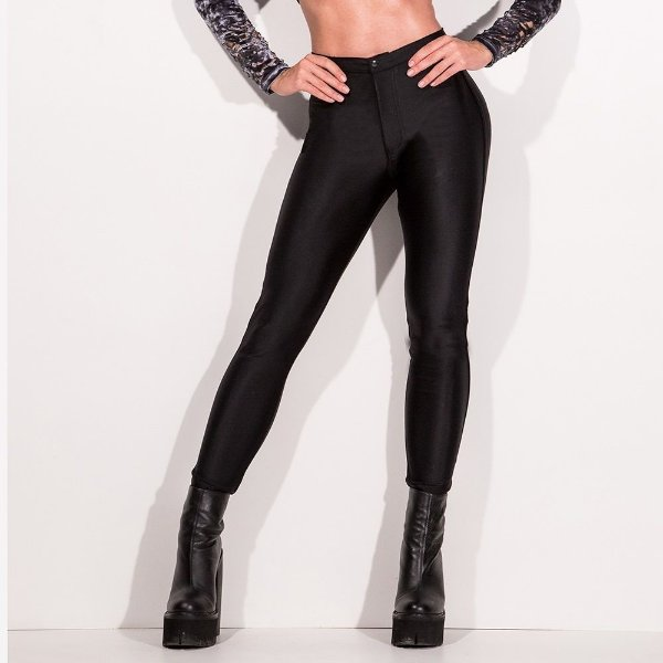 Calça Disco Pants Total Black - LABELLAMAFIA