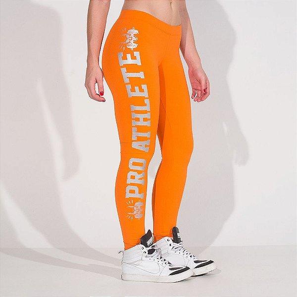 Calça Legging Pro Athlete Orange - P - Labellamafia