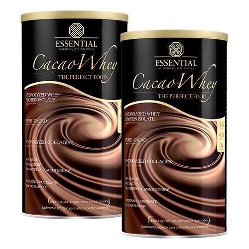 Kit 2x Cacao Whey 450g - Whey Protein Hidrolisado
