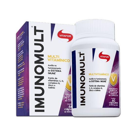 Imunomult Multivitaminico (60 Capsulas) - Vitafor