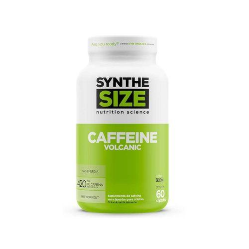 Caffeine Volcanic 420mg 60 Cápsulas - Synthesize