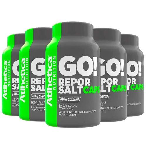 Kit 5x Hidroeletrolítico Repor Salt (30caps) - Atlhetica