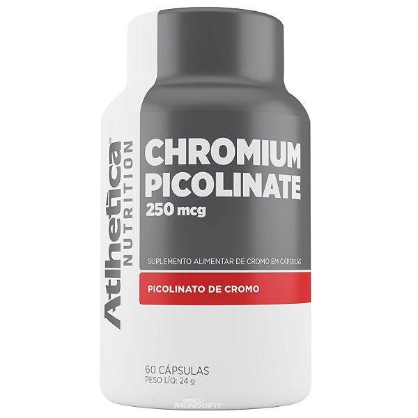 Picolinato de Cromo Inibidor de Apetite (60 caps) Atlhetica Nutrition