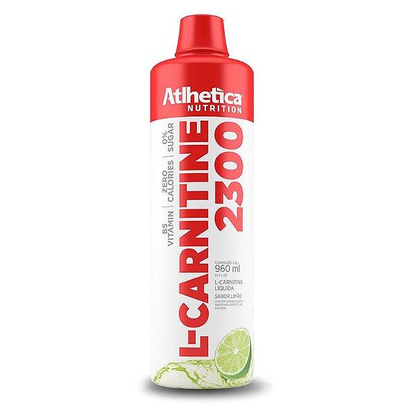 L-Carnitine 3000 960ml - Sabor Limão - Atlhetica Nutrition