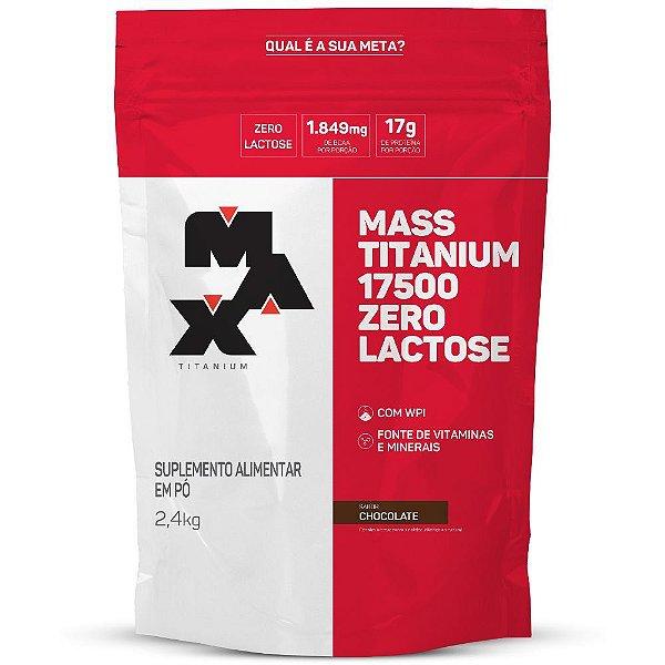 Mass Titanium 17500 ZERO LACTOSE (2,4kg) - Max Titanium